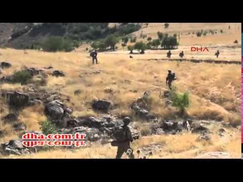 Tunceli'de PKK'lılara Büyük Operasyon!
