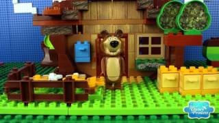♥ Masha and the Bear Compilation 2015 Маша и Медведь (The Golden Fish, Garden of Ice Cream Part 6 HD