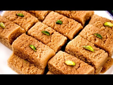 Milk Cake Recipe | Perfect Alwar Ka Mawa Halwai Style - CookingShooking