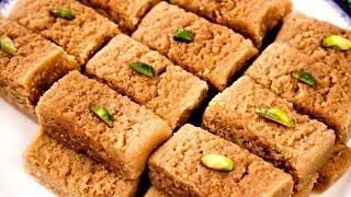 Milk Cake Recipe | Perfect Alwar Ka Mawa Halwai Style - CookingShooking