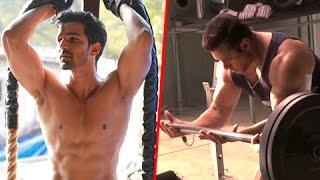 Salman Khan's BIL Ayush Sharma v/s Harshvardhan Rane HOT WORKOUT VIDEO