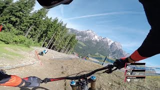 Claudio Previews the Leogang Track on a 29er DH Bike! | UCI MTB World Cup 2017