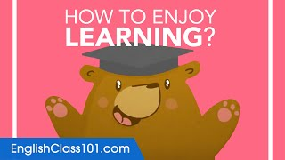 How to Enjoy Learning English