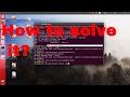 Solving Ubuntu Errors    SEO helper
