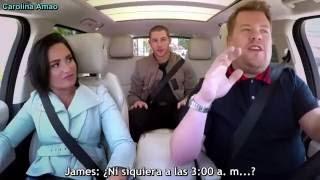 Demi Lovato & Nick Jonas Carpool Karaoke [Sub Español] - Parte 1