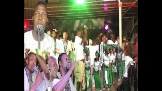 Young united Benin Musicians live on stage