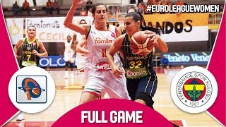 LIVE🔴 - Famila Schio (ITA) v Fenerbahce (TUR) - EuroLeague Women 2017-18