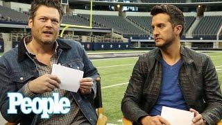 Blake Shelton & Luke Bryan Play