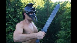 Tactical Gladius sword review and testing