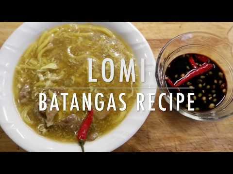 LOMI BATANGAS | EASY RECIPE