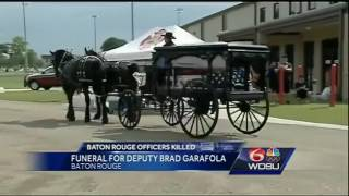 Family, friends, law enforcement officers lay to rest deputy killed in Baton Rouge