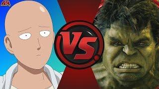 ONE PUNCH MAN vs HULK! (Saitama vs World Breaker Hulk) Cartoon Fight Club Episode 147
