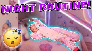 MY NIGHT TIME ROUTINE!!!