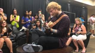Ed Sheeran  Tenerife Sea Acoustic  Glendale Arizona 83114