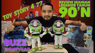REVIEW BUZZ LIGHTYEAR - TOY STORY 4 VS 1? | ORIGINAL DISNEY STORE AND TAKARA 1#