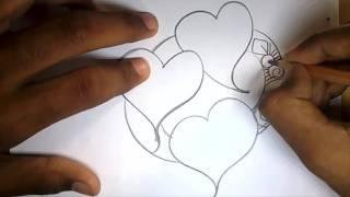 How to draw Alpona bd -আল্পনা-আলপনা আঁকা design Bangladesh Bangla year art/ Bangali pohela boishakh