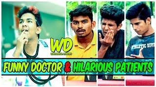 Funny Doctor & Hilarious Patients || Warangal Diaries || Hyderabadi Comedy