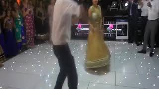 Lovely couple | wedding dance | punjabi song | peg baliye | Best Punjabi Wedding Dance | 2017