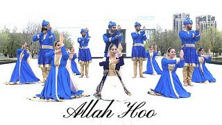 Allah Hoo | Sufi Kathak Fusion Choreography | Dance With SL & Alhamra Unplugged
