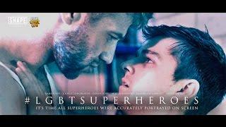 #LGBTSuperheroes
