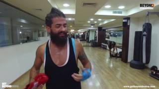 Beyond Starac Arabia Fadee Andrawos Thai Boxing - فادي اندراوس يلعب التاي بوكسينغ