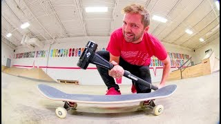 ReVive Skateboards Strength Test / SLEDGE HAMMER!