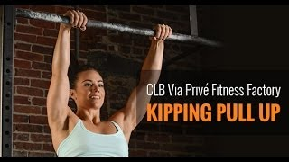 Camille Leblanc-Bazinet - How to master the Butterfly Kipping Pull Up? Via Privé Fitness Factory