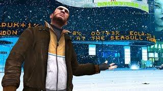 GTA+4+-+Snow+in+Liberty+City+%5BMod+Showcase%5D