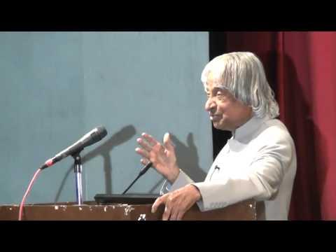 Dr APJ Abdul Kalam address at the Youth convention held by Ramakrishna Mission,Vadodara .mp4