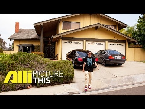 Xxx Mp4 Greg Lutzka Gives A Tour Of His Home Alli Picture This 3gp Sex