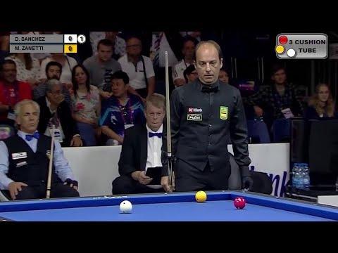 Daniel Sanchez vs Marco Zanetti Billiard 3 Cushion World Games 2017 Final 3