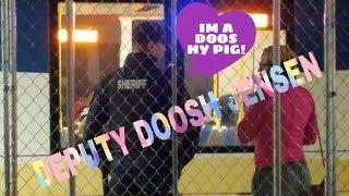 Deputy JENSEN the scam Artist Thug on Transit Police