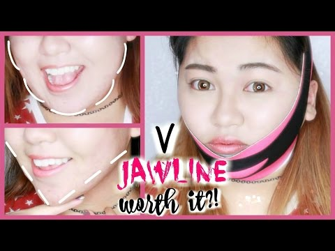 Diamond V-Shape Jawline Mask Review | ft. Hideous KPOP Dancing