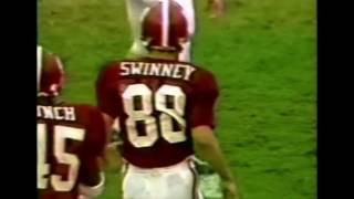 Coach Dabo Swinney WR Highlights Playing at Alabama