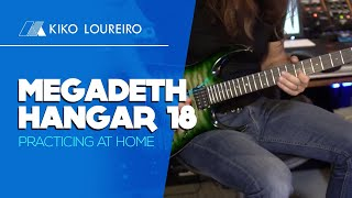 Megadeth Hangar 18 - Practicing at home