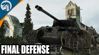 D-Day Last Stand Defensive Positions Captured   Company of Heroes: Opposing Fronts Gameplay