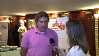 InfiNet Wireless' TV. Interview with Leone Picciotto.