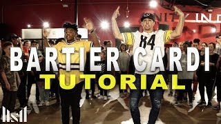 BARTIER CARDI - Cardi B ft 21 Savage Dance TUTORIAL || Matt Steffanina