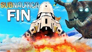 LA FIN DU JEU ! | Subnautica !