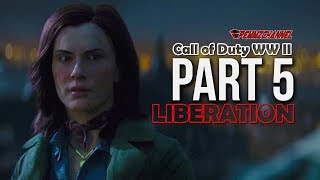 Call Of Duty WWII part 5 - Liberation - Cinematic Walkthrough with Aorus X7 V7 DT