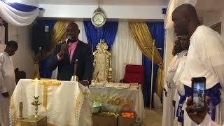 Descending service from 7 days trance. Sermon by Prophet Rotimi Temituro part 1