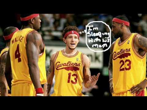 Gloria James and Delonte West SEX TAPE ?  You be the judge