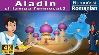 Aladin și lampa fermecată - Poveste de adormit copii - 4K - Romanian Fairy Tales