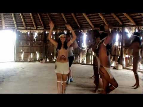 Indian Village dance-Guardalavaca, Cuba