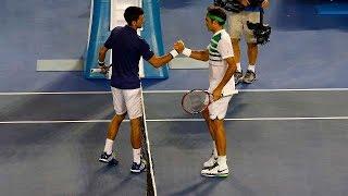 Novak Djokovic v Roger Federer highlights (SF) | Australian Open 2016