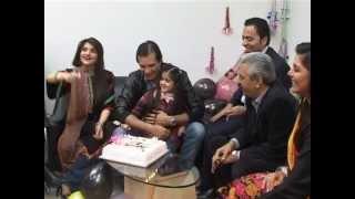 Moamar Rana's 38th Birthday Celebrated By ARY News, Lahore. (Naeem Hanif)