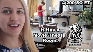 OUR $12,000 A NIGHT HOTEL FREE UPGRADE!! (Royal Suite)