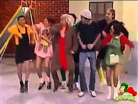 Chavo del 8 Bailando el Baile del Caballo PSY Gangnam Style