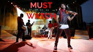 Flashmob Live Act.!! Mohanlal-Abhijith P S Nair-A.R.Rahman-Mohanam-