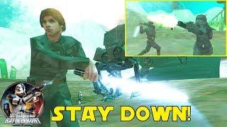 Star Wars Battlefront 2 Mods ᴴᴰ (PC): Jade Moon Assault! (Luke Skywalker vs Death Troopers)